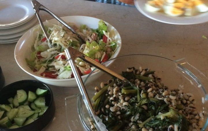Simple Black-eyed Peas Salad