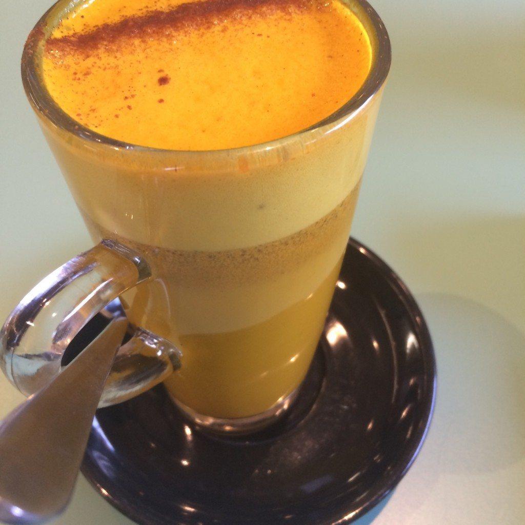 coconut tumeric latte