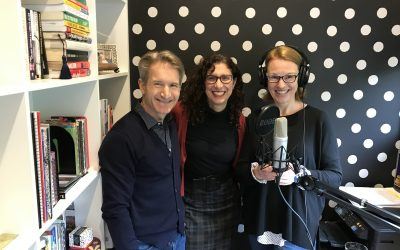 Maria Harpas and Tim Jaeger on Amanda's Wellbeing Podcast