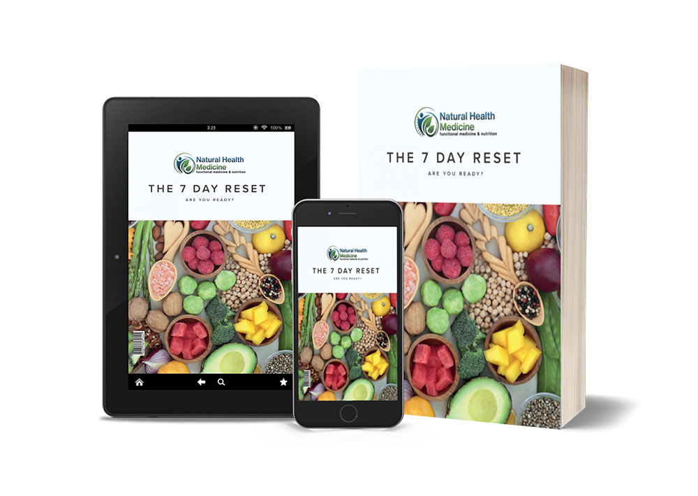 eBook - 7 Day Reset - Live Healthy