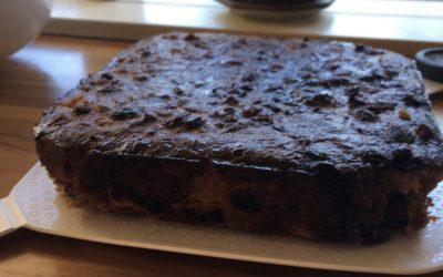 Teresa Cutter's Healthy Christmas Cake