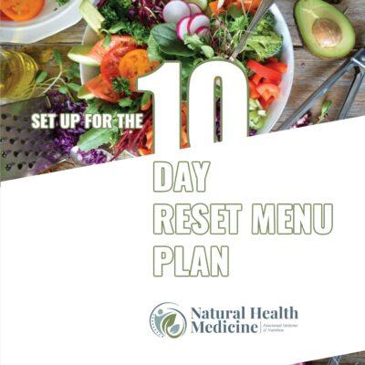 10 Day Reset Menu Plan